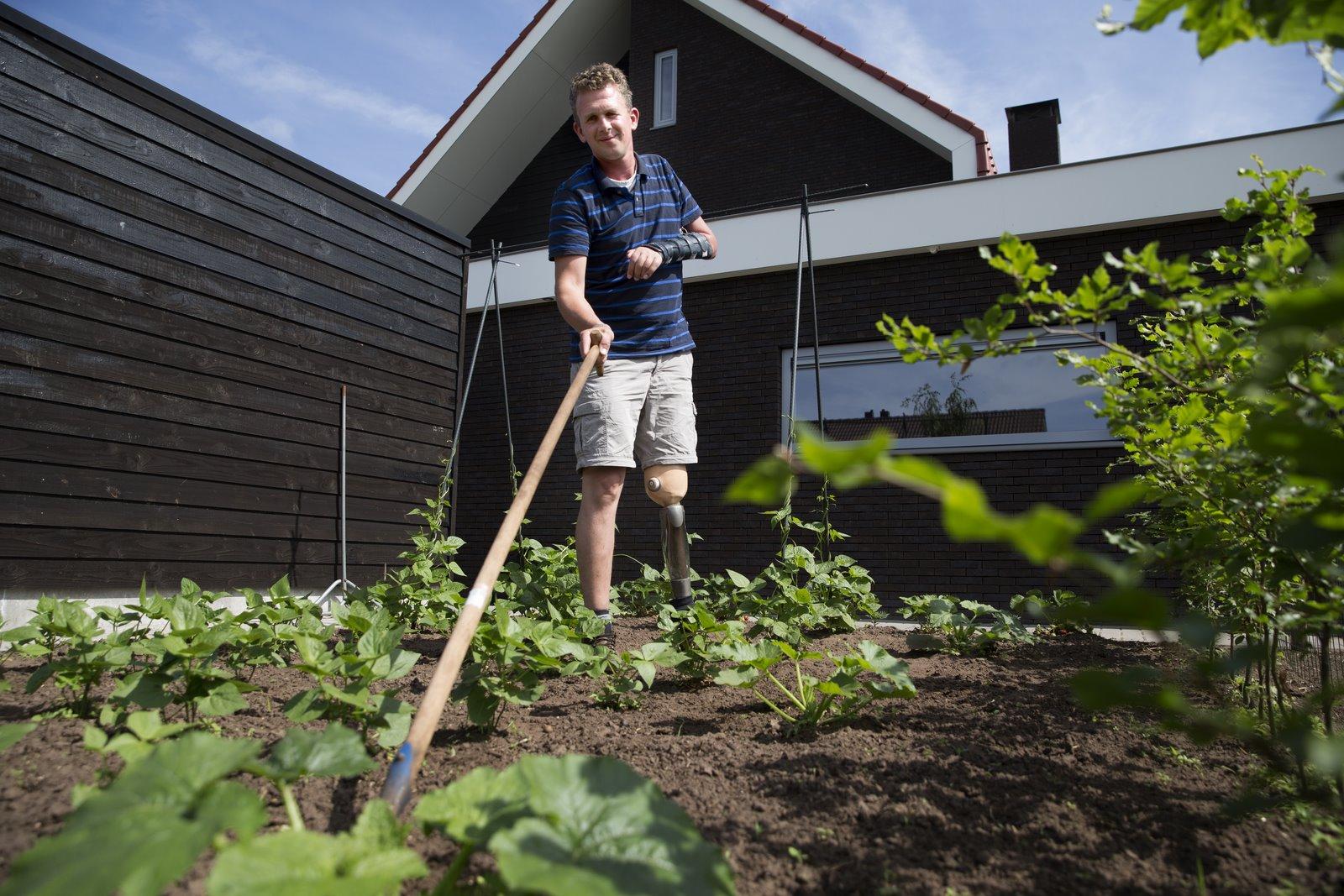 Johan Smith Voorlichting leven met lichaamlijke beperking